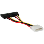 Verbindungskabel Power,PC/m,2xSATA 15p