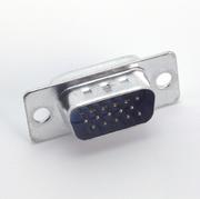 Bauteil Sub-D-Stecker male 15polig HD*