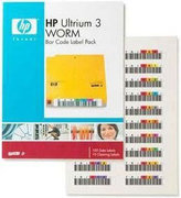 HP LTO 3WORM Barcode Label-Pack (100+10)