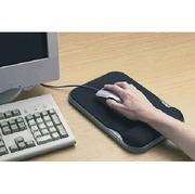 Mousepad mit Handgelenkauflage, schwarz