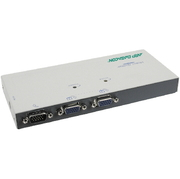 VGA-Splitter 1:2,350MHz,DB15HD,MultiSync