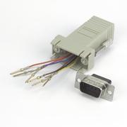 Adapter Modular, DB9/m-RJ45 8P/8C