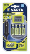 Varta Power LCD Charger inkl 4AA 2400mAh