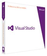 MS FPP Visual Studio 2012 Pro w/MSDN DVD