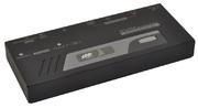 KVM Verstärker,USB+PS/2,2 Konsolen,200m
