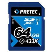 Pretec SDXC Card Class 16 64 GB 433x
