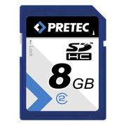 Pretec SDHC Card Class 2, 8 GB
