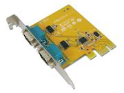 I/O-Karte 2x RS-232 Seriell PCI-Express
