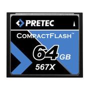 Pretec CF Card 567x 64 GB