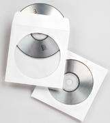 Fellowes CD-/DVD-Papierhüllen, 100 Stück