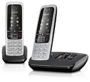 Gigaset C430A Duo Telefon silber/schwarz