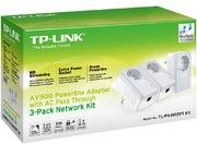 TP-LINK AV500+ Powerline 500Mbps 3er Kit