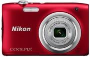 Nikon Coolpix A100 Digitalkamera rot