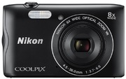 Nikon Coolpix A300 Digitalkamera schwarz
