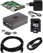 Raspberry Pi 3 Bundle Mini-PC schwarz