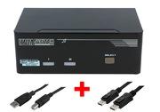 ARP KVM-Switch 1:2 USB, Dual DisplayPort