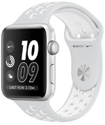 Apple Watch Nike+ Alum. 42 mm silber