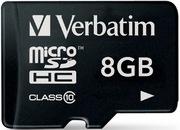 Verbatim Premium Class 10 8 GB microSDHC