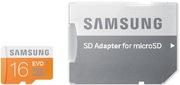 Samsung EVO 16 GB microSDHC