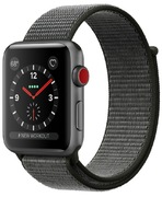 Apple Watch S3 Alu 42 mm Cellular Grau