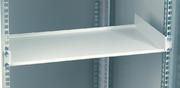 Geräteboden 1 HE fest, 250 mm tief grau