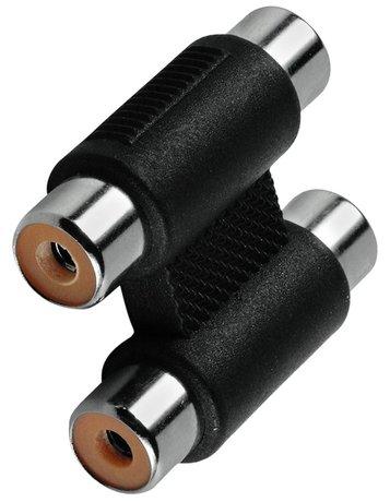 Image of Adapter 2xCinch Buchse - 2xCinch Buchse