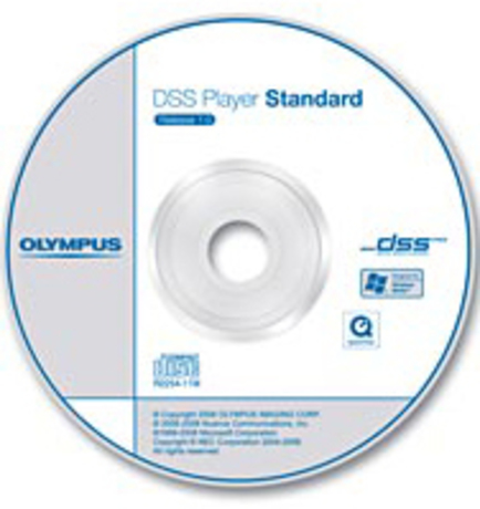 Image of Olympus DSS Player Standard Diktiermodul