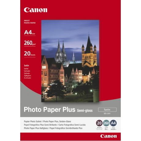 Image of Canon Plus Semi-gloss SG-201 A4 Papier
