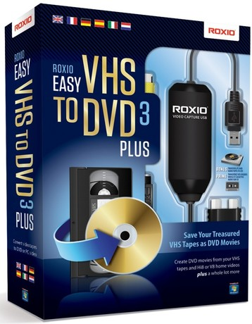 Image of Corel Roxio Easy VHS to DVD 3 Plus 1U