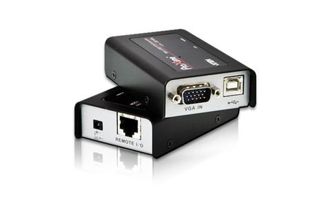 Image of ATEN CE100 KVM Extender Cat5e, USB, 100m