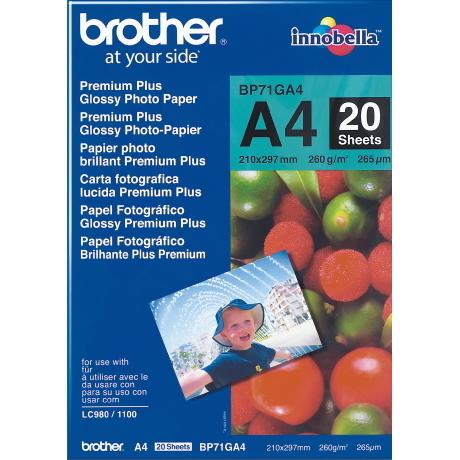 Image of Brother Fotopapier glänzend A4 260 g/m²