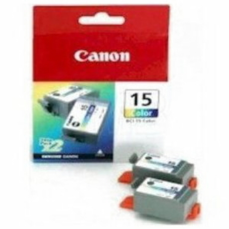 Image of Canon BCI-15 Tinte dreifarbig 2-Pack