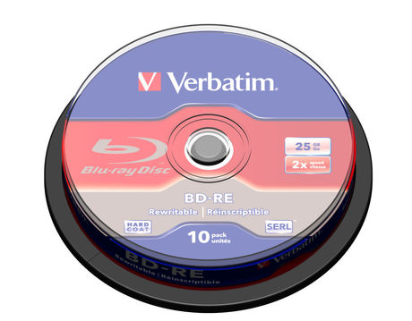 Image of Verbatim Blu-ray BD-R 25GB 2x SP(10)
