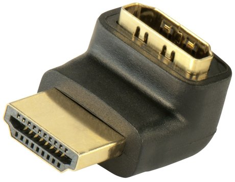 Image of Adapter 90°oben HDMI(A) Bu - HDMI(A) St