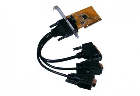 Image of Exsys EX-44343 RS-232 PCIe Karte