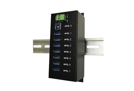 Image of Exsys 1187HMVS 7 Port USB 3.0 Metall HUB