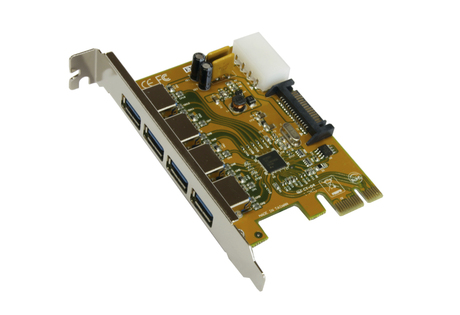 Image of Exsys EX-11094 USB 3.0 PCIe Karte 4 Port
