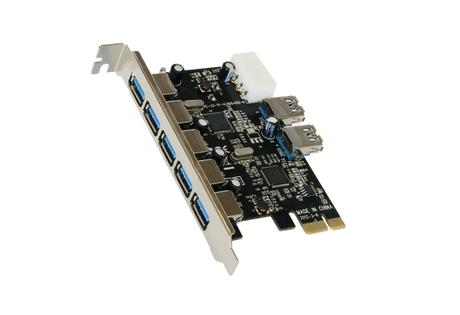 Image of Exsys EX-11087 USB 3.0 PCIe Karte 7 Port