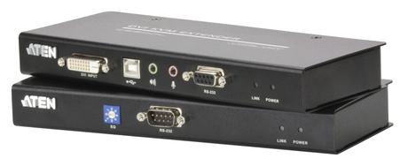 Image of ATEN CE600 DVI KVM Extender mit Audio