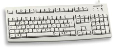 Image of CHERRY G83-6104/G83-6105 Tastatur (Schweizer Ausführung)