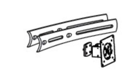 Image of Ergotron DS100 Triple Displ. Upgrade Kit