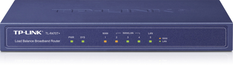 Image of TP-Link TL-R470T+ Load Balance Router