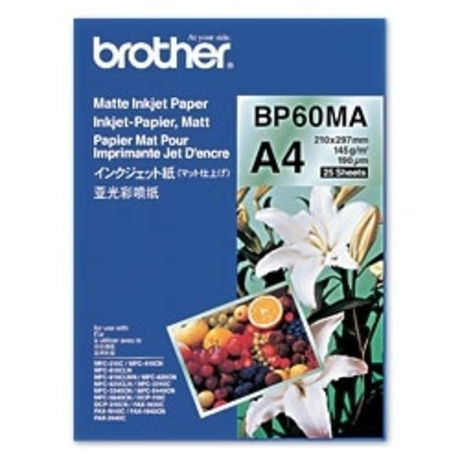 Image of Brother BP60MA Inkjetpapier matt 145g/m²