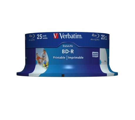 Image of Verbatim Blu-ray BD-R 25GB 6x SP(25)