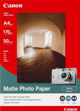 Image of Canon MP-101 Fotopapier matt