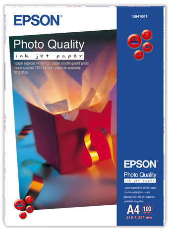 Image of Epson Photo Quality Ink Jet A4 Papier