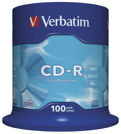 Image of Verbatim CD-R80/700 52x SP(100)