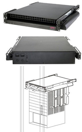 APC Rack Side Air Distribution Unit, 2U