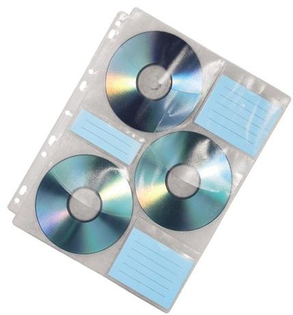 Image of Hama Hüllen mit Index für 60 CDs/DVDs