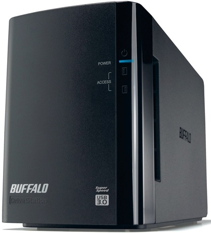 Image of Buffalo DriveStation Duo 12TB HDD